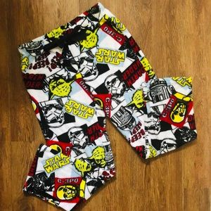 VINTAGE Disney Star Wars Fleece Pajama Pants